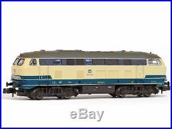 Brawa 61211 DCC + SX + Sound Diesellok BR216 bl/be DB Ep. IV Spur N NEU