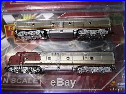 Broadway Limited 3058,59 Atsf E8 A/b N Scale Both Powered Paragon 2 Dcc, Sound
