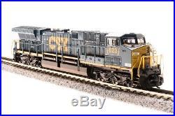 Broadway Limited 3426 N GE AC6000 CSX #606 YN3 Dark Future Paragon3 Sound/DC/DCC