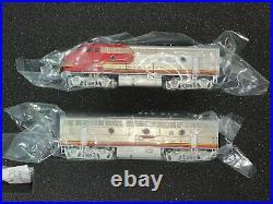 Broadway Limited 3510 EMD F7 A/B Set ATSF #38L/38A Paragon 3 Sound/DC/DCC
