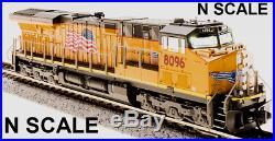 Broadway Limited 3552 ES44AC UP #8104 Building America Paragon3 Sound/DC/DCC