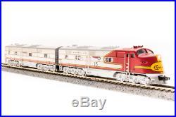 Broadway Limited 3583 N Scale EMD E6 A-unit ATSF 12L Warbonnet Scheme DCC Sound