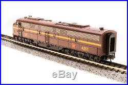 Broadway Limited 3623, N Scale EMD E8 A-unit, PRR #4251, Tuscan Red, DCC & Sound