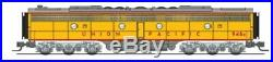 Broadway Limited 3629 N Scale EMD E9 B-unit UP #950B Yellow & Gray DCC WithSound