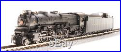 Broadway Limited 3639, N Scale, PRR M1b 4-8-2, #6733, with Paragon3 Sound/DC/DCC