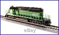 Broadway Limited 3703 N Scale EMD SD40-2 Burlington Northern #6811, DCC/DC/Sound