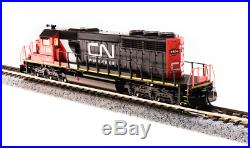Broadway Limited 3707 N Scale EMD SD40-2 Canadian National #6106, DCC/DC/Sound