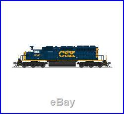 Broadway Limited 3711 N CSX EMD SD40-2 Diesel Loco with Paragon3 Sound/DC/DCC