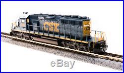 Broadway Limited 3711, N Scale EMD SD40-2 CSX #8043, YN3 Scheme, DCC/DC/Sound