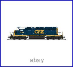 Broadway Limited 3712 N CSX EMD SD40-2 Diesel Loco Paragon3 Sound/DC/DCC #8113