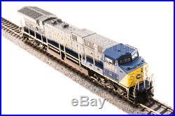 Broadway Limited 3745, N Scale, GE AC6000 CSX #653, Paragon3 Sound/DC/DCC ##