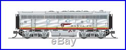 Broadway Limited 3800 N, EMD F7 A/B, ATSF 328L/328A, Warbonnet Scheme, DCC Sound