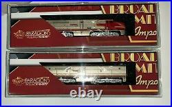 Broadway Limited 3840 Alco PA/PB Set ATSF #55L/55A Paragon 3 Sound/DC/DCC