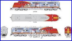 Broadway Limited 4539 HO EMC E1 A/B Set ATSF #2L/2A Locomotive with DCC & Sound