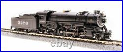 Broadway Limited 5951 N Santa Fe USRA Heavy Mikado Steam Loco Sound/DCC #3275