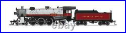 Broadway Limited 6251 N Canadian Pacific Light 4-6-2 Steam Loco DCC/Sound #2318