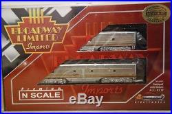 Broadway Limited Imports BLI N 3055 EMD E8 A/B ATSF #85L/84A, DCC Sound, OVP