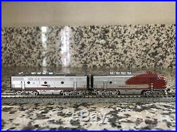 Broadway Limited Imports N Scale F3, Paragon3, Sound/DC/DCC ATSF set 18L/18A