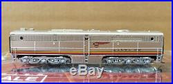 Broadway Limited Imports N Scale Santa Fe ATSF Alco PA/PB #52L/52A With DCC Sound