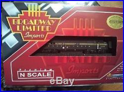 Broadway Limited N EMD E7 A-unit PRR #5850A GREEN with 5-stripes DCC WithSound