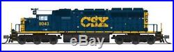 Broadway Limited N EMD SD40-2, CSX #8043, YN3 Scheme, Paragon3 Sound/DC/DCC #3711