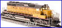 Broadway Limited N EMD SD40-2, UP #3128, Yellow & Gray, Paragon3 Sound/DC/DCC 3715
