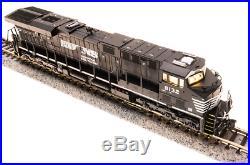 Broadway Limited N SCALE GE ES44AC NS 8132 Black & White Paragon3 Sound/DC/DCC