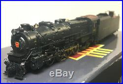 Broadway Limited N Scale #3072 PRR M1a 4-8-2, Road #6743 Paragon2 DCC Sound New