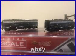 Broadway Limited N Scale B&O EMD F7 ABA DCC/Sound. Dummy B Unit