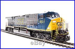 Broadway Limited N Scale GE AC6000 (DCC/Sound) CSX Transportation/YN2 #636