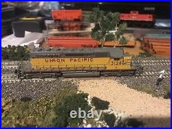 Broadway limited n scale locomotive dcc sound sd40-2 union pacific 3128