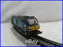 Dapol N Gauge Class 68001 DRS Evolution DCC Sound Fitted & Track Tested