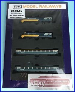 Dapol'n' 2d-019-001 Hst Class 43'intercity 125' Blue/grey Livery Book Pack