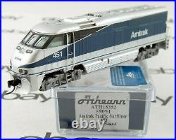 F59PHI Locomotive withDCC & Sound Amtrak Pacific Surfliner #451 Athearn #15352