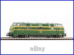 Fleischmann 725077 DCC + Sound Diesellok Serie D 340 RENFE Spur N NEU