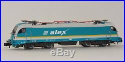 Fleischmann 731210 Elektrolokomotive ALEX BR 183 005 Allgäu Express DCC Sound