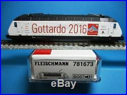 Fleischmann 781673 SBB DCC+Sound Elektrolomotive Re 460 098-7, Neu, OVP, M1160