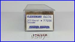 Fleischmann N 77236 Doble Tracción Diesel DCC Sound Como Nuevo Ovp -top
