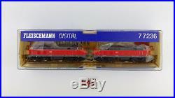 Fleischmann N 77236 Doppel Traktion Diesel DCC Sound Wie Neu Övp -oben