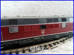 Fleischmann N Gauge 725076 DCC & Sound DB Diesel Loco 221 130-8 Tested