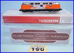 Fleischmann'n' 725075 Rts 221.105 Loco Vi'dcc Sound' Boxed #190