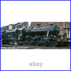 Graham Farish 372-163DS Stanier Class 8F BR Black Late crest Sound Fitted DCC