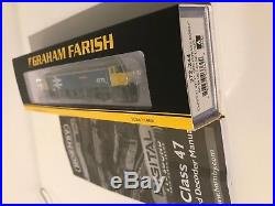 Graham Farish 372-244 BR Blue Class 47 47711 Greyfriars Bobby DCC & SOUND FITTED