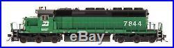 InterMountain N Scale 69355S Burlington Northern SD40-2 Locomotive DCC Sound
