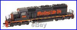InterMountain N Scale 69357S Wheeling & Lake Erie SD40-2 Locomotive DCC Sound