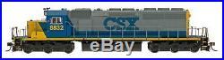 InterMountain N Scale 69366S CSX YN2 Scheme SD40-2 Locomotive DCC Sound
