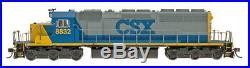 InterMountain N Scale SD40-2 Locomotive CSX #8806 DCC Sound 69366S-01