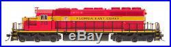 InterMountain N Scale SD40-2 Locomotive FEC #713 DCC Sound 69349S-02