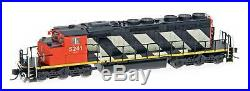 Intermountain N SD40-2W with DCC and Sound Canadian National CN Stripe