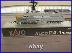 KATO n scale locomotive D&RGW PA-1 DCC&SOUND